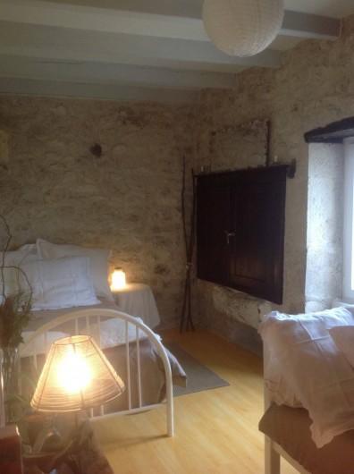 Location de vacances - Gîte à Lendou-en-Quercy - ch d'enfant à l'étage