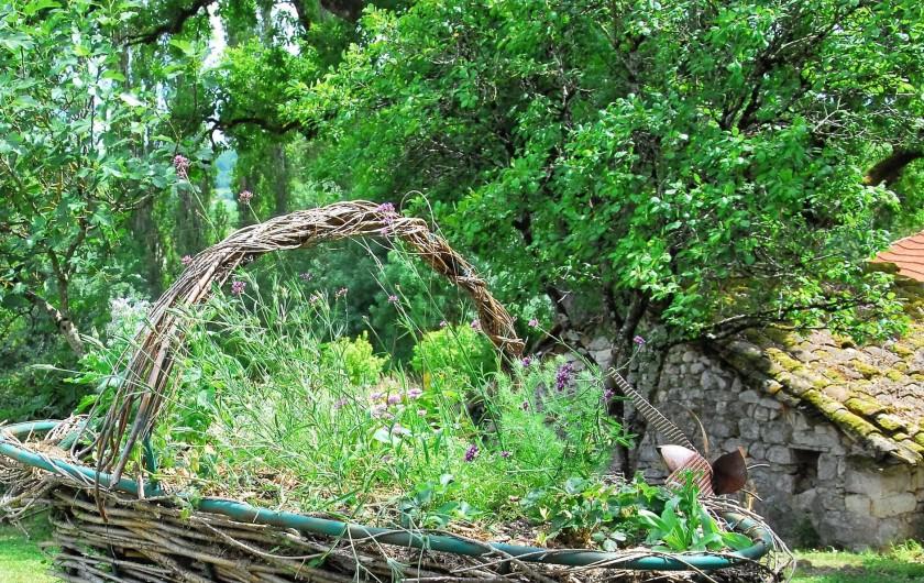 Location de vacances - Gîte à Lendou-en-Quercy - coté découverte