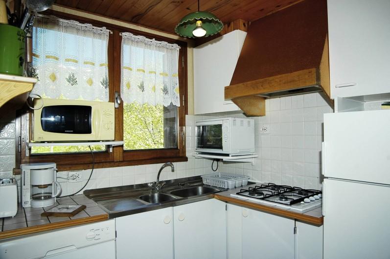 Location de vacances - Appartement à Fontcouverte-la-Toussuire - coin cuisine