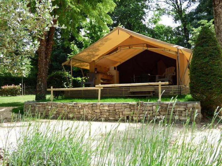 Location de vacances - Camping à Salavas - Lodge 4 personnes