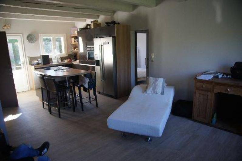 Location de vacances - Appartement à La Croix-Valmer - chambre 1 suite parentale