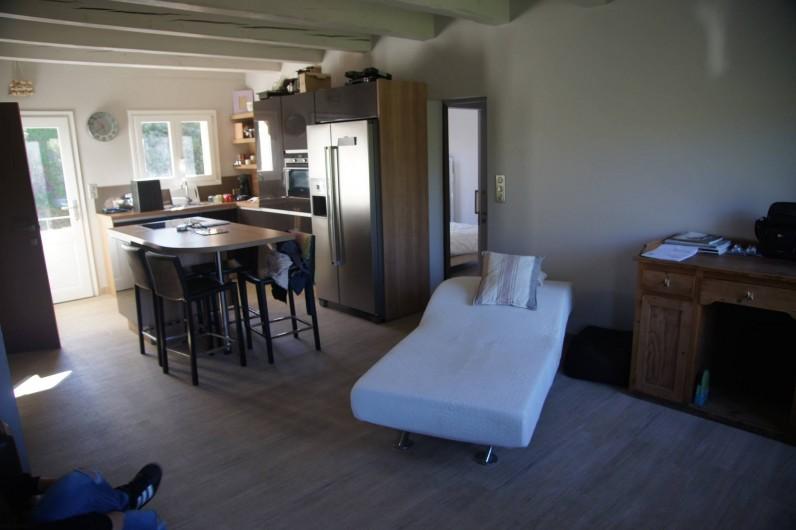 Location de vacances - Appartement à La Croix-Valmer - séjour