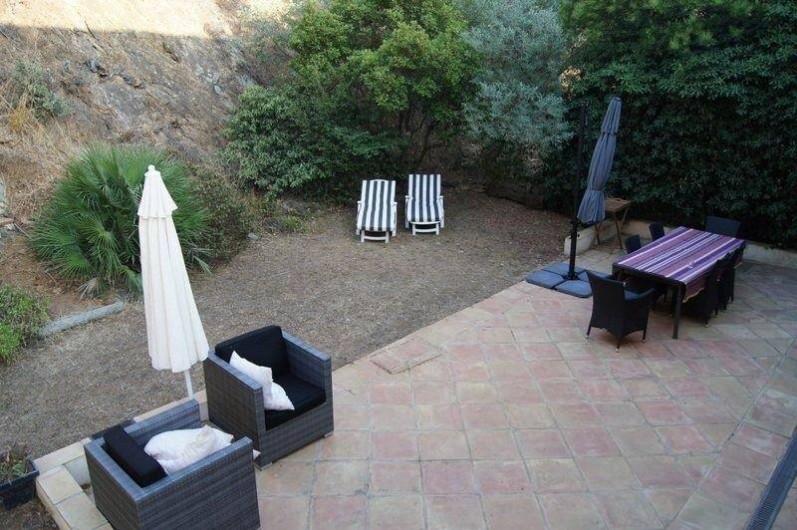 Location de vacances - Appartement à La Croix-Valmer - grande terrasse de 60 m2