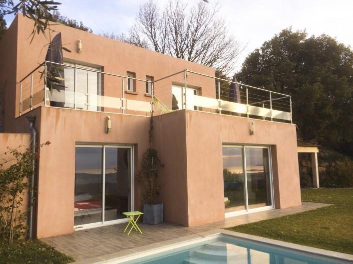 Location de vacances - Villa à Ollioules - vue sud