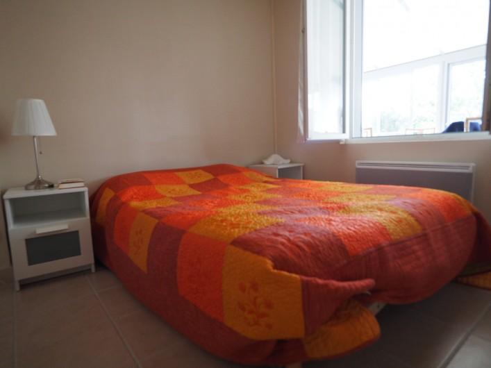 Location de vacances - Appartement à Merville-Franceville-Plage - Chambre lit double 140/190