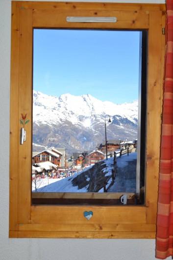Location de vacances - Appartement à Vallandry - depuis le salon