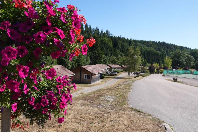 """Location de vacances - Chalet à Foncine-le-Haut - Vue sur les 14 HLL du """"Val de Saine"""""""