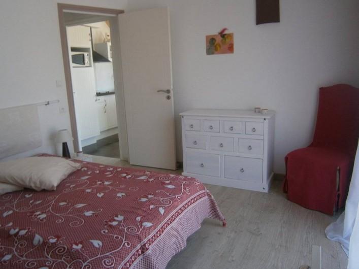 Location de vacances - Gîte à Concarneau - chambre au rez de chaussée