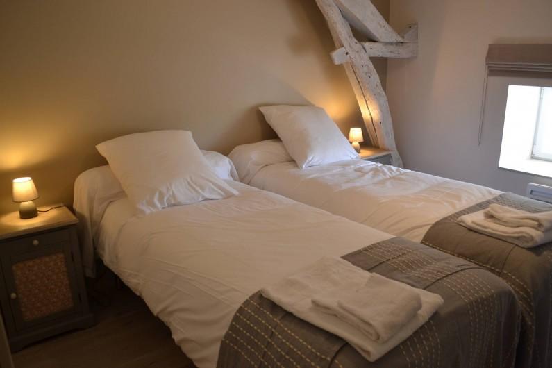 Location de vacances - Gîte à Lougratte - Chambre 2 lits ou 1lit