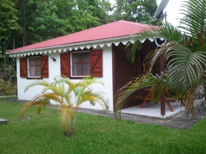 Location de vacances - Chalet à Deshaies - vue du bungalow