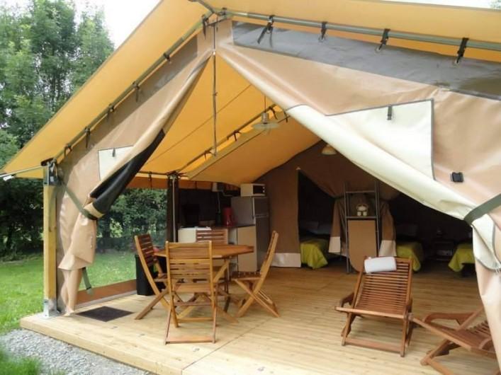Location de vacances - Camping à Luçon - Espace de vie Ecolodge