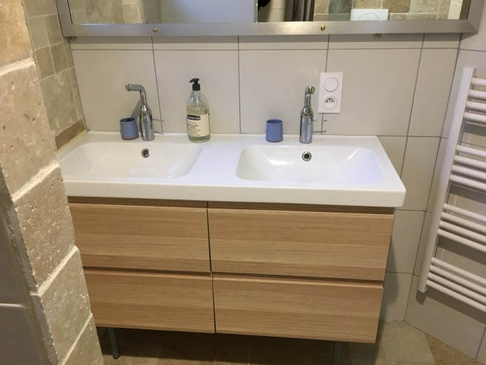 Location de vacances - Villa à Grabels - Salle de bain 2