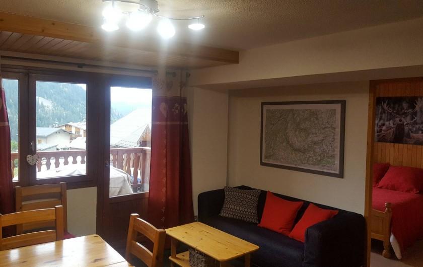 Location de vacances - Appartement à Champagny-en-Vanoise - Séjour.