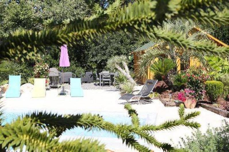 Location de vacances - Maison - Villa à Anduze - PISCINE