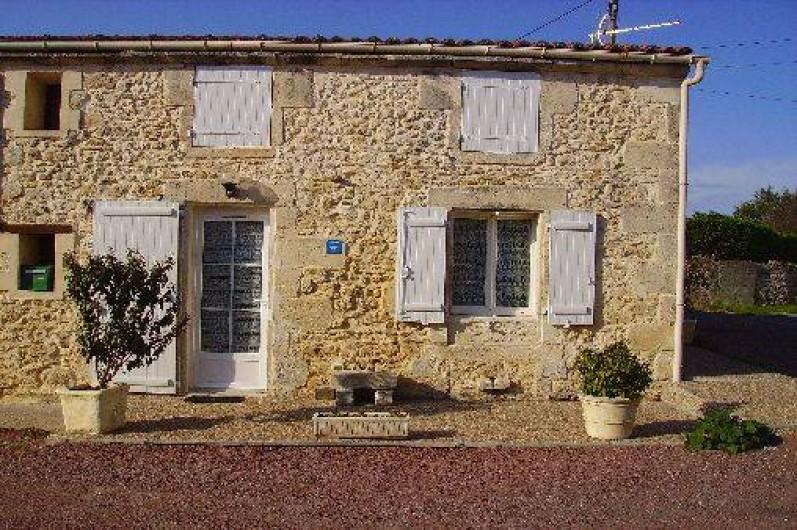 Location de vacances - Maison - Villa à Vergeroux - FAÇADE