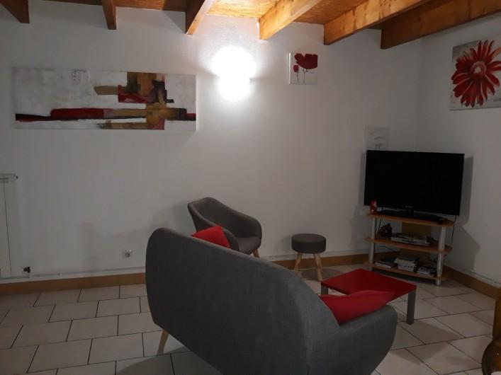 Location de vacances - Maison - Villa à Vergeroux - SALON