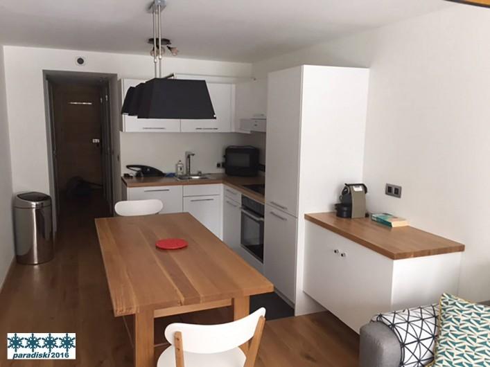 Location de vacances - Appartement à Arc 1800 - Cuisine / SAM