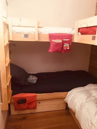 Location de vacances - Appartement à Arc 1800 - Chambre 3