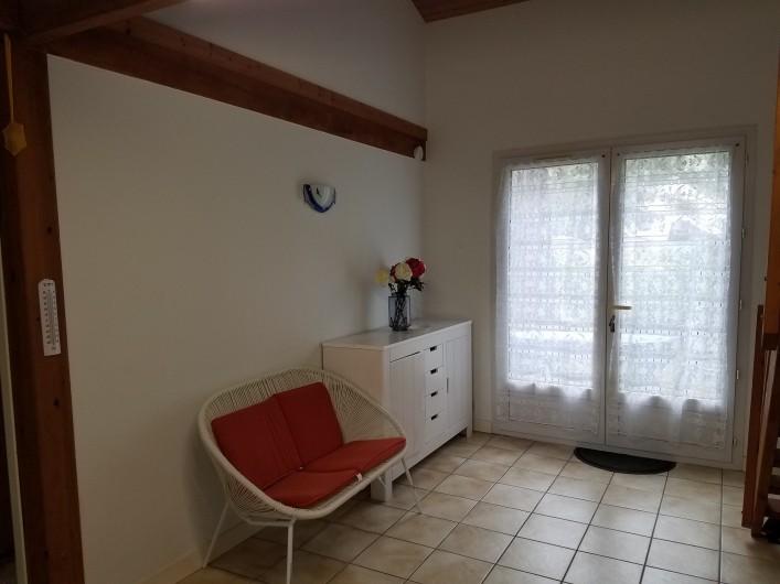 Location de vacances - Maison - Villa à Ronce les Bains - RDC : coté salon
