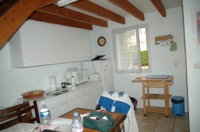 Location de vacances - Maison - Villa à Ronce les Bains - RDC : coté salle à manger