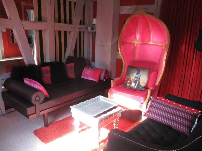 Location de vacances - Appartement à Strasbourg - Salon