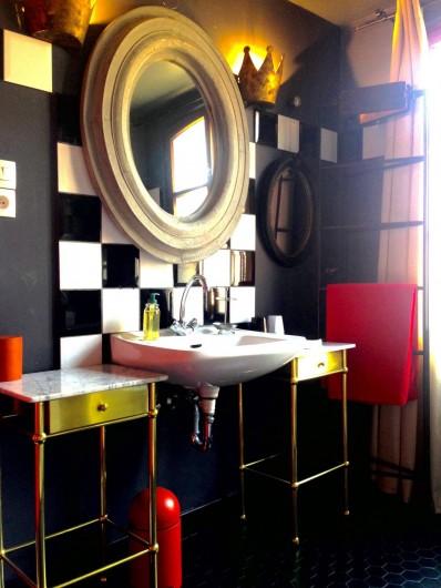 Location de vacances - Appartement à Strasbourg - Salle de bain