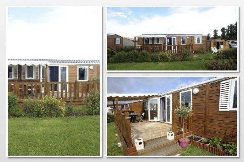 Mobil Home Grandcamp Maisy En Normandie Avec Piscine Couverte Et