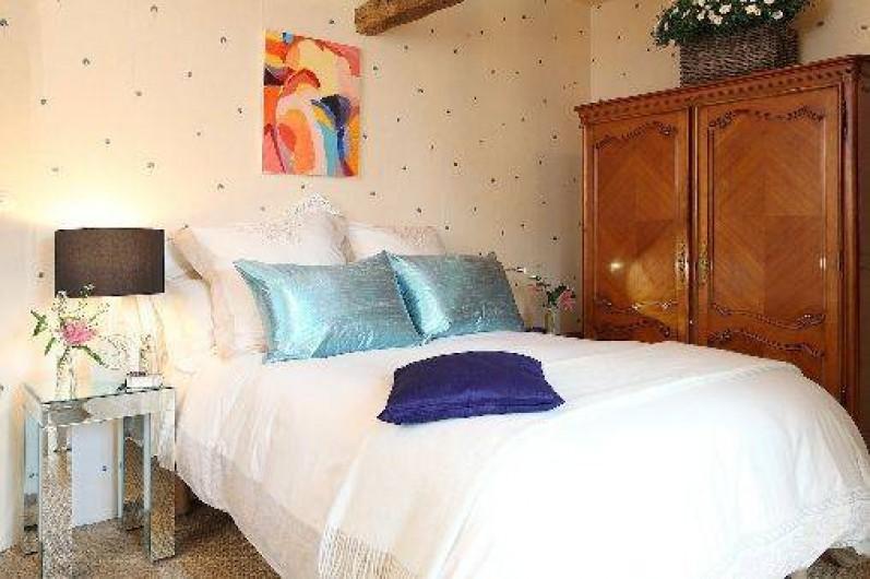 Location de vacances - Villa à Berthenay - Chambre 2 lit Queen size