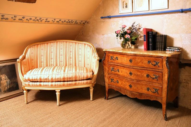 Location de vacances - Villa à Berthenay - blue bedroom