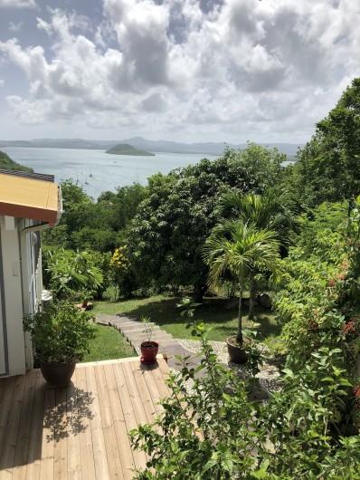 Location de vacances - Villa à Les Trois-Îlets - Accès location