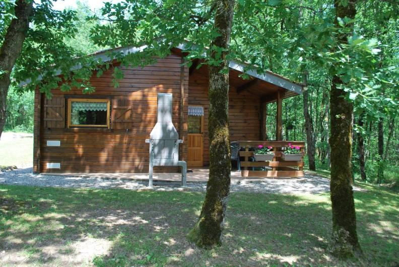 Location de vacances - Chalet à Vergt-de-Biron - Chalet