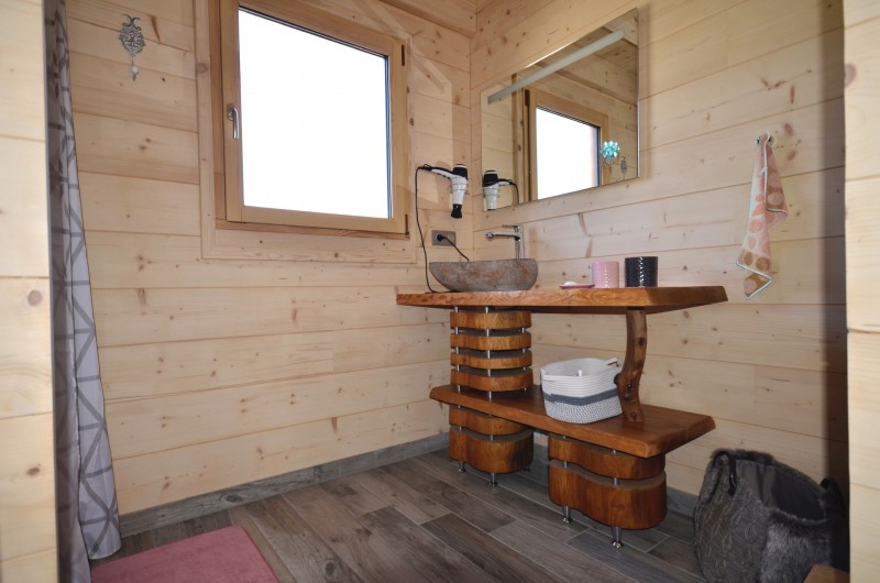 Location de vacances - Chalet à La Pesse - Salle de bain