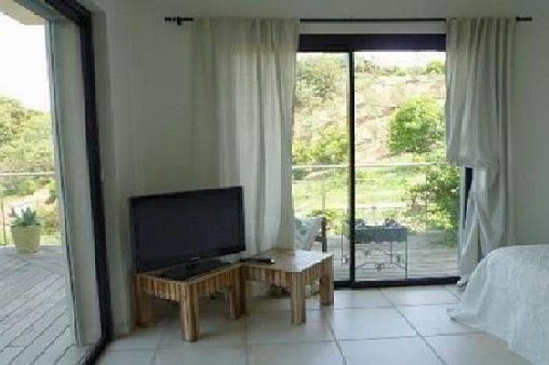 Location de vacances - Villa à Porticcio - chambre parents