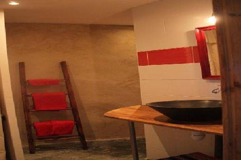 Location de vacances - Gîte à Chirols - salle d eau