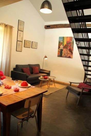 Location de vacances - Gîte à Chirols - Coin salon