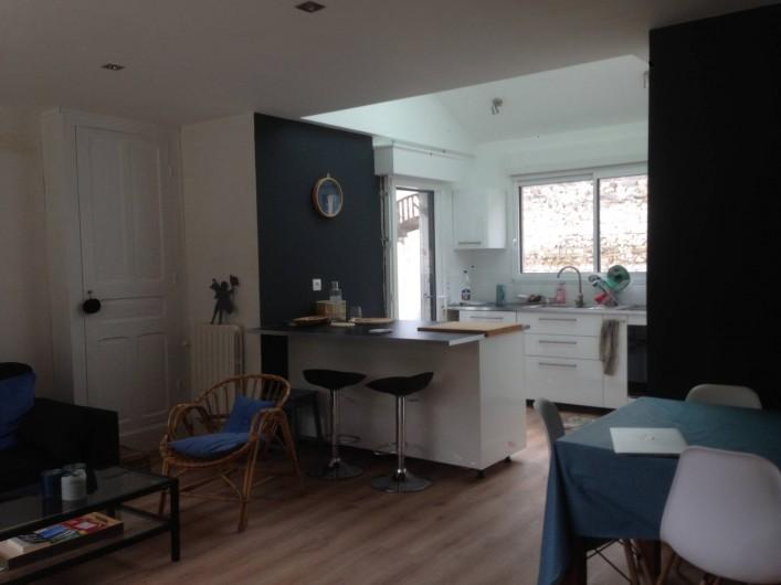 Location de vacances - Villa à Le Touquet-Paris-Plage - cuisine ouverte