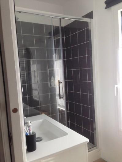 Location de vacances - Villa à Le Touquet-Paris-Plage - salle de bain douche