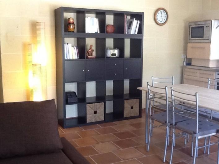 Location de vacances - Villa à Saint-Vivien-de-Médoc - Cuisine/salle-à-manger