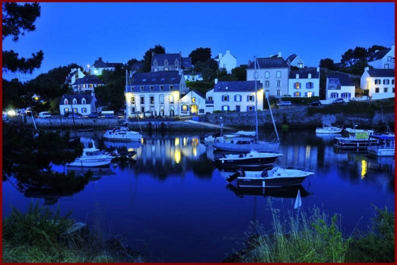 Location de vacances - Gîte à Clohars-Carnoët - Le port de Doelan, la nuit