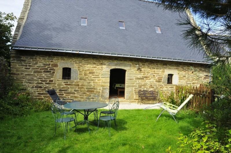 Location de vacances - Gîte à Clohars-Carnoët - Coté jardin