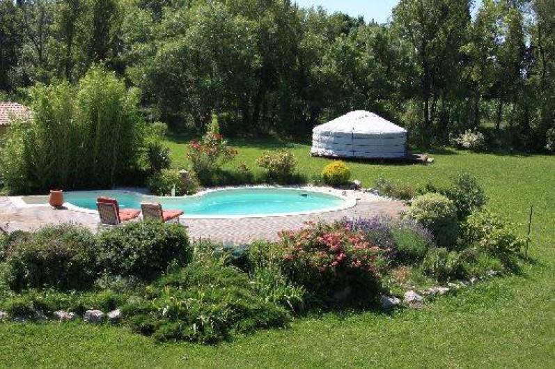 Location de vacances - Yourte à Eyguières