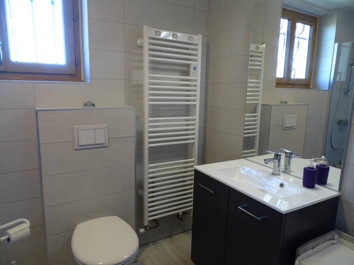 Location de vacances - Chambre d'hôtes à Louslitges - Salle de bain