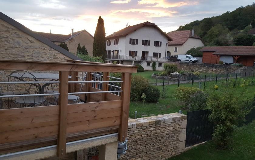 Location de vacances - Gîte à Médière - Balcon terrasse