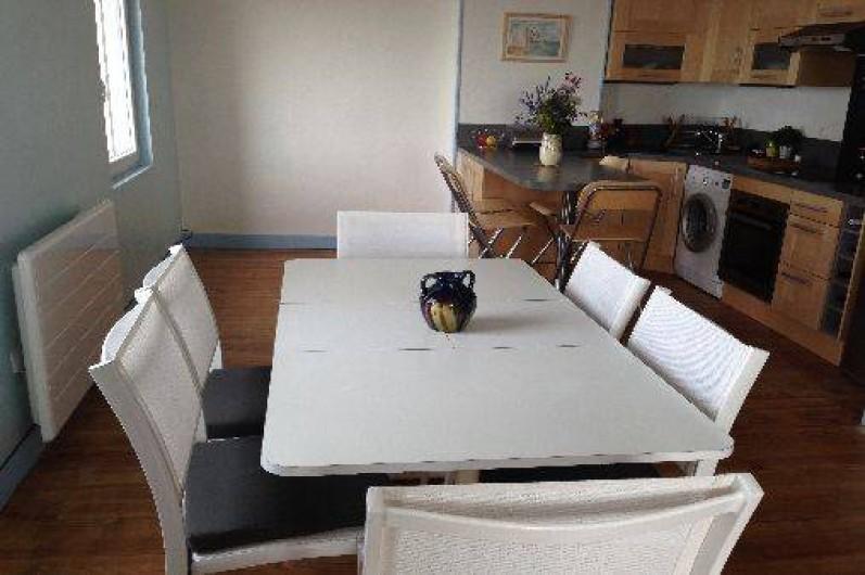 Location de vacances - Appartement à Ault - Coin repas