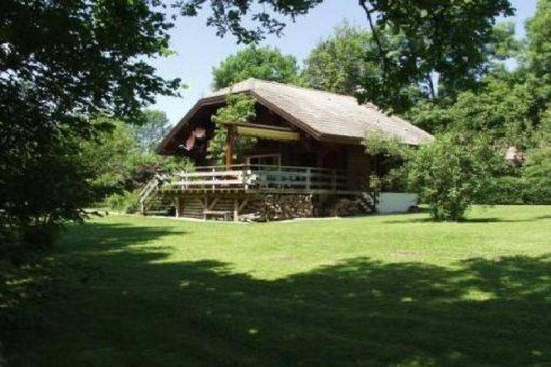 Location de vacances - Chalet à Marigny - chalet de charme 4*