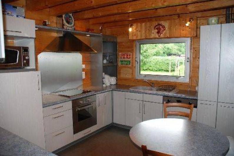Location de vacances - Chalet à Marigny - cuisine chalet de charme 4*