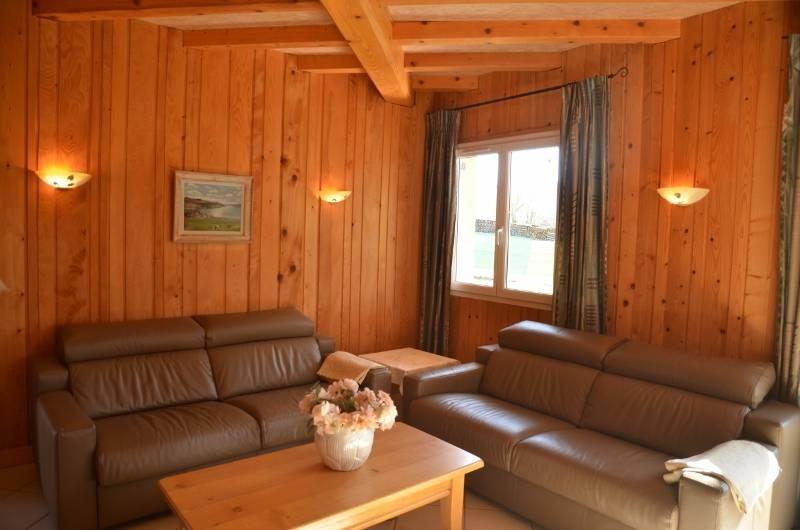 Location de vacances - Chalet à Marigny - gite 4 épis de plain pied séjour