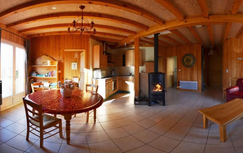 Location de vacances - Chalet à Marigny - séjour gite 4 épis