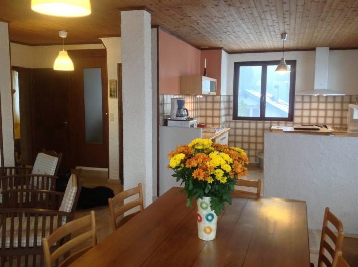 Location de vacances - Chalet à Bonlieu - le séjour