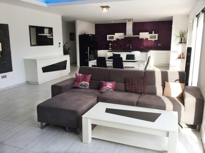 Location de vacances - Villa à Aureille - Coin salon de votre location à Aureille dans les Alpilles